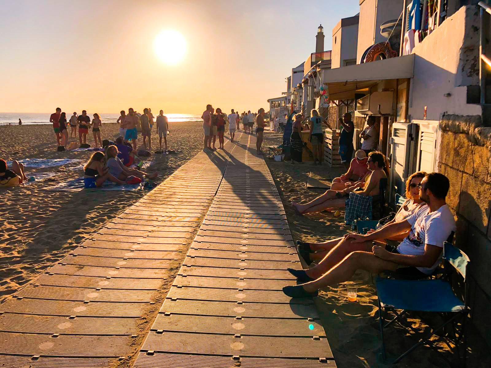 Paseo Fiesta en la Playa