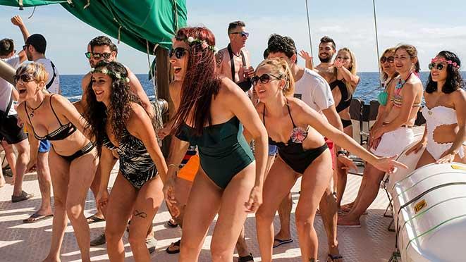 Despedida de Soltera Evento Fiesta en Barco